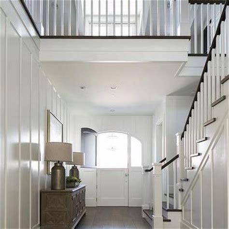 Dining Room Molding Ideas distressed foyer cabinet design ideas
