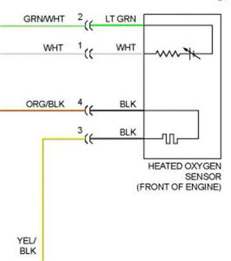 1995 honda del sol o2 sensor my o2 sensor wires from the