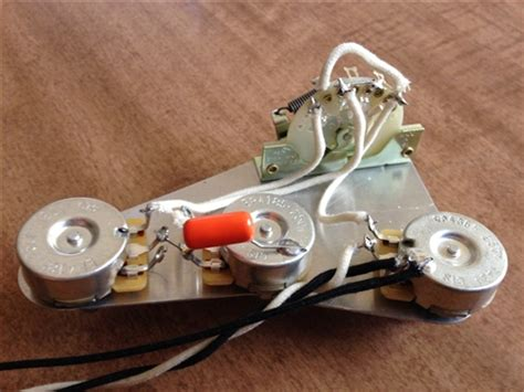 upgrade wiring harness for fender stratocaster cts no load