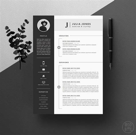 cv layout design word resume design templates 19 template cv cover letter for