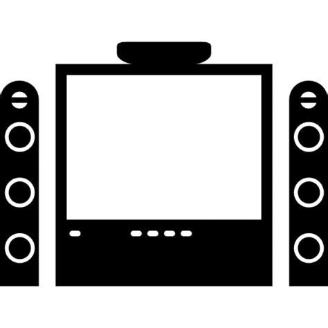 tv home equipment icons free