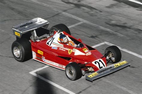 first ferrari race car gilles villeneuve ferrari 312t2 1977 canadian gp gilles