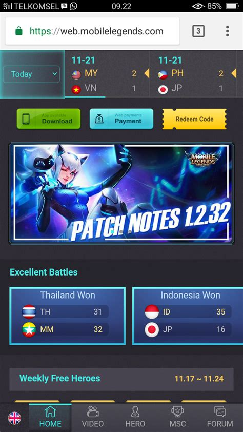 mobile legends redemption code mobile legends cara redeem tukar kode skin eudora vivo