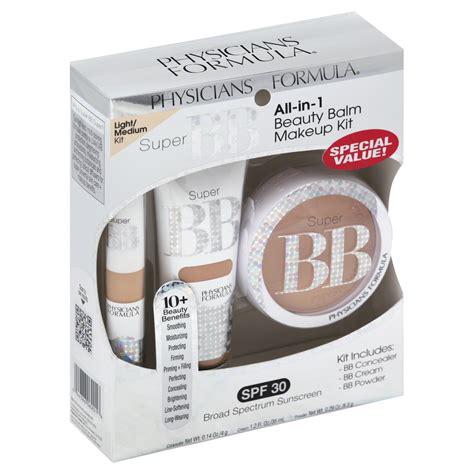 Bb Glow Kit physicians formula r bb all in 1 balm makeup kit box