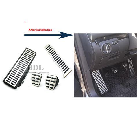 Pedal Gas Manual 1 stainless steel car footrest clutch ᗑ brake brake gas pedal manual transmission