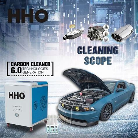 hho car engine carbon cleaning machine  shangcheng international business centre changsha