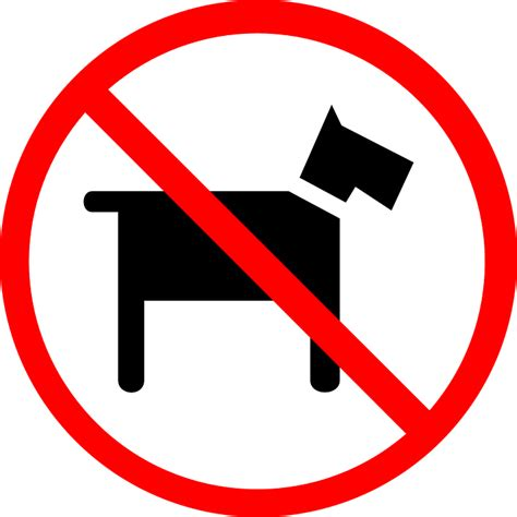 no dogs allowed free vector graphic no pets allowed dogs sign free image on pixabay 39409