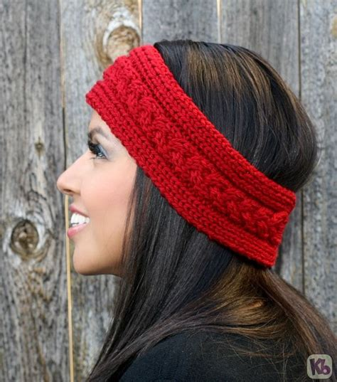 loom knit ear warmer loom knit ear warmer headband pattern pictures knitting