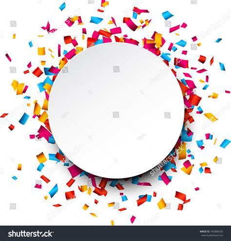 vector imagenes com colorful celebration background confetti vector