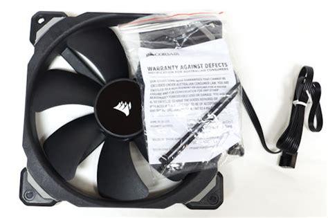 Corsair Ml140 Pro No Led 14cm Fan 1 corsair ml pro series review packaging bundle