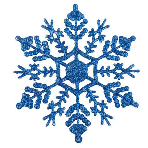 12pcs set glitter snowflake christmas ornaments xmas tree