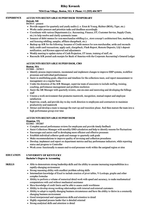 Accounts Receivable Resume by Resume For Accounts Receivable Talktomartyb