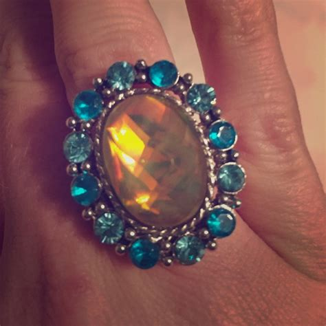 80 jewelry big costume jewelry ring from adria s
