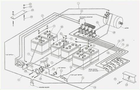 2001 36 volt ezgo txt wiring diagram ez go txt battery