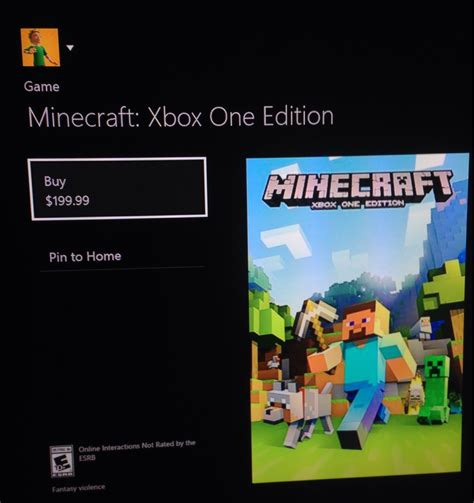 one price microsoft mistakenly prices minecraft xbox one edition at