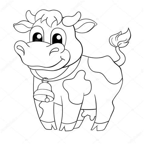 imagenes de vacas a blanco y negro rolig tecknad ko stock vektor 169 alka5051 90272912