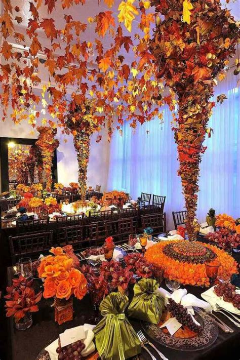 fall season decorations get stylish with 40 fall decorating ideas holidays