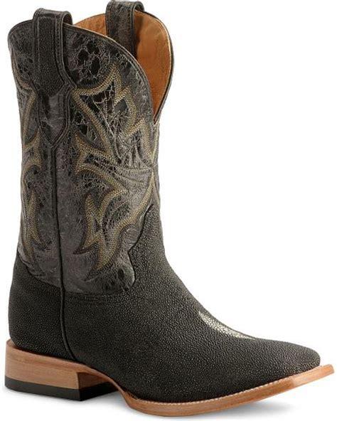 stingray cowboy boots stetson stingray cowboy boots wide square toe sheplers