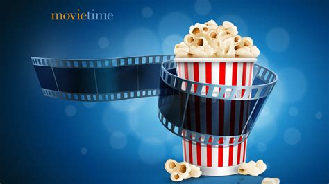 wallpaper movietime popcorn film