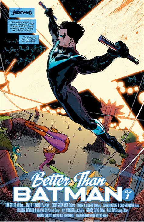 Dc Comics Nightwing 23 August 2017 nightwing vol 4 1 comicnewbies