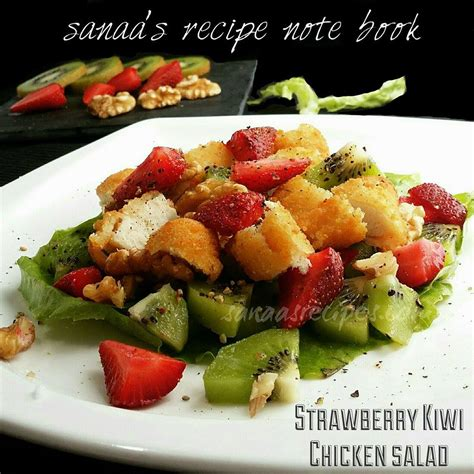 strawberry chicken books chicken sanaa s recipe note book original signature