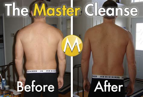 10 Day Master Cleanse Detox Diet by Master Cleanse Before And After