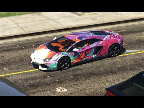 Hyper Beast Lamborghini Aventador Livery   GTA5 Mods.com
