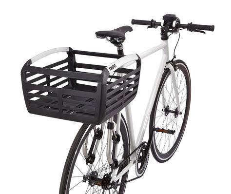 Bike Rack Basket thule pack n pedal basket for bike racks 33 lbs black thule bike accessories th100050