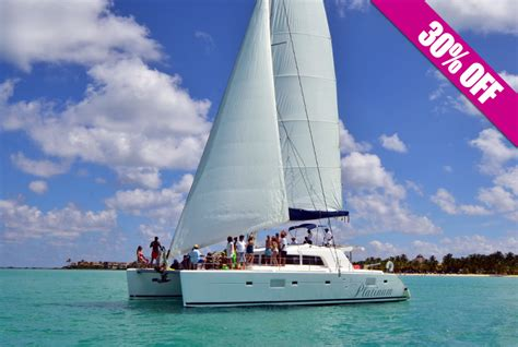 catamaran cruise to isla mujeres best cheapest cancun boat tours cancunrivieramaya
