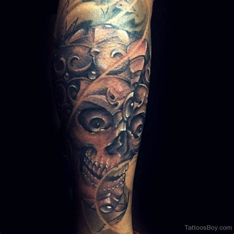 tibetan skull tattoo designs tibetan tattoos designs pictures page 3
