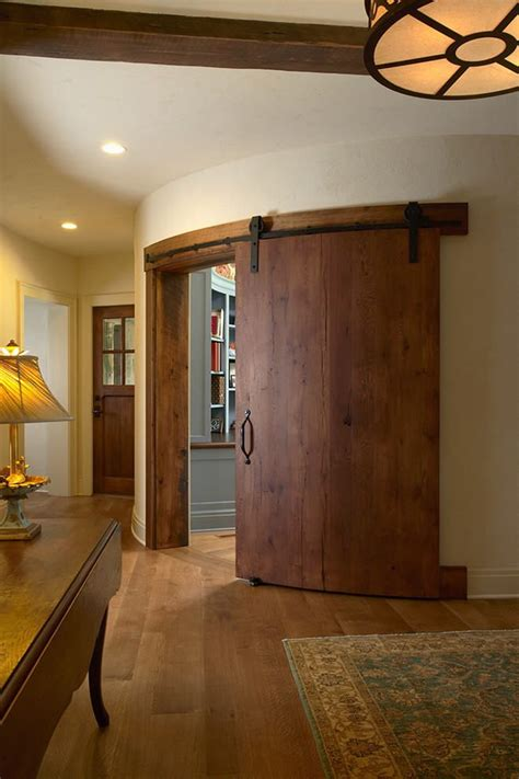 Curved Barn Door Interiors Good For A Play Room Or Office Office Barn Doors