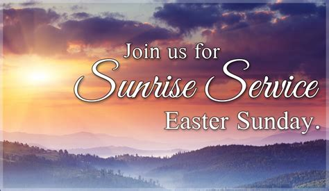 easter sunday service decorations sunrise service invite ecard free easter cards online