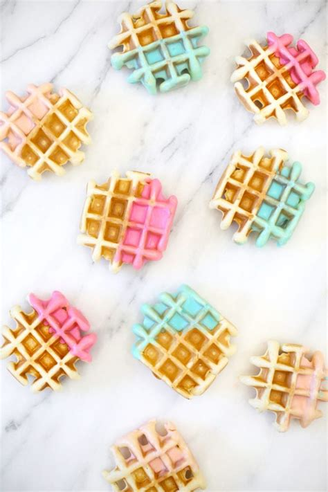 waffles color 25 best ideas about rainbow waffles on