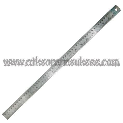 Penggaris 50cm jual alat tulis kantor murah surabaya 187 penggaris besi