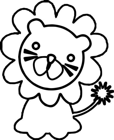 lion cartoon coloring page lion coloring page 7254