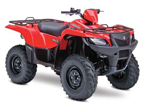 Suzuki Atv Prices 2014 Suzuki Atv Lineup Kingquad Quadsport Ozark Models