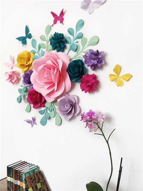 17 Best ideas about Paper Wall Decor on Pinterest   Diy