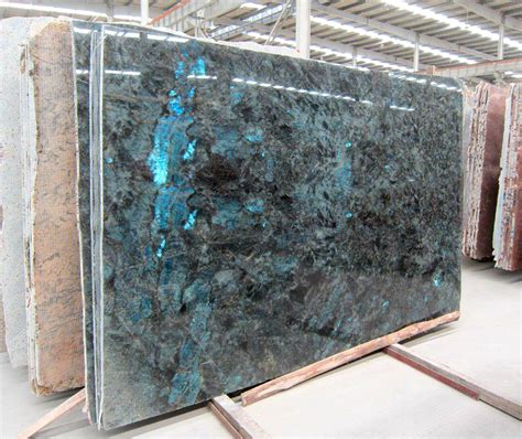 Granite Slabs Labradorite Blue Granite Slab