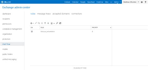 Office 365 Junk Mail Whitelist How To Whitelist A Domain To Bypass Spam Filtering In