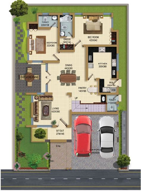 Ground Floor Industries by 2415 Sq Ft 4 Bhk 4t Villa For Sale In Synthite