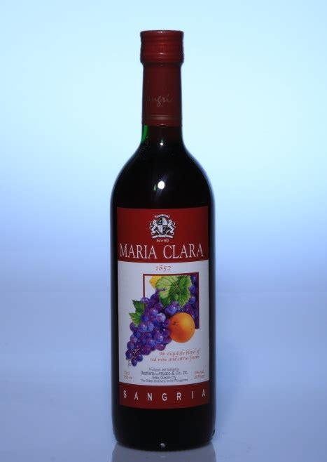 maria clara sangria red wine efrata denny