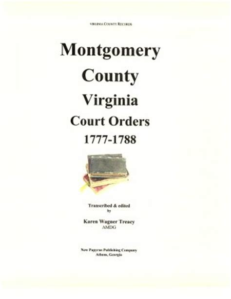 Montgomery County Va Court Records Montgomery County Virginia Records