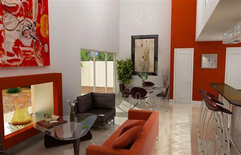 Tv Ukuran Kecil desain interior ruang tamu kecil merah modern minimalis the knownledge