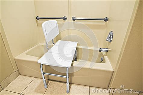 bathtub for disabled handicap bathing chair stock photo image 33228890