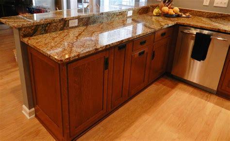 copper granite kitchen craftsman with copper