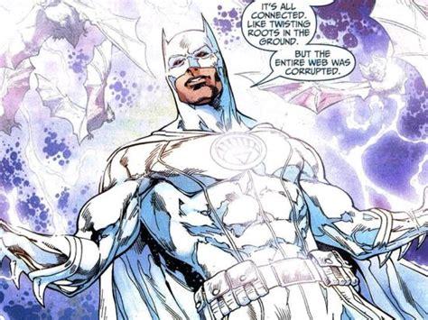 batman white white batman suit