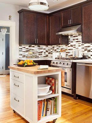 1000 ideas about small kitchen islands on