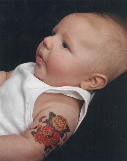 baby tattoos for dad baby tattoos and designs page 52
