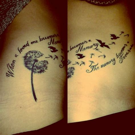 tattoo quotes generator my first tattoo quot when loved one becomes memory the memory