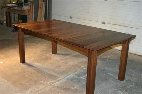 walnut dining table and bench handmade walnut dining table by canton studio custommade com